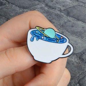 Coming soon! Rare universe cup  Pin  | Brooch 💜